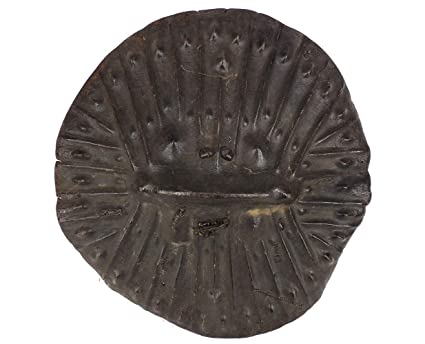 Amazon com: Ethiopian Shield Amarro Arussi Rhino Leather African Art