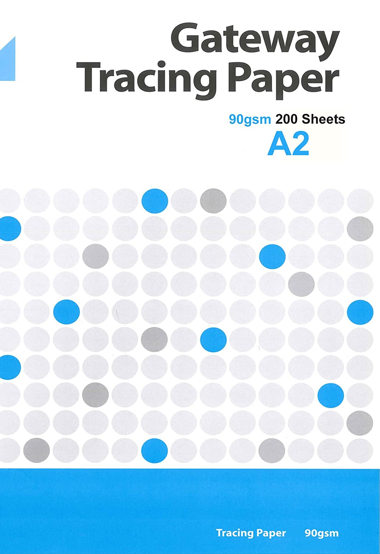 Gateway A2 90 gsm 250 Blatt Natur Transparentpapier