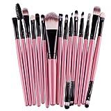 Amazon Price History for:DATEWORK 15 pcs/Sets Foundation Eyebrow Lip Brush Makeup Brushes (Pink )