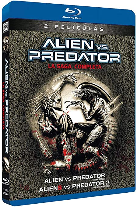 Alien Vs Predator 1+ 2 Blu-Ray [Blu-ray]: Amazon.es: Sanaa Lathan, Raoul Bova, Lance Henriksen, Ewen Bremner, Colin Salmon, Steven Pasquale, Reiko Aylesworth, John Ortiz, Johnny Lewis, Ariel Gade, Paul W.S. Anderson, Colin