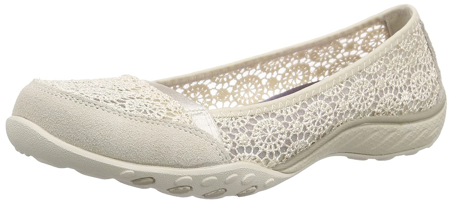 Skechers Sport Women's Pretty Factor Fashion Sneaker B00RQ9ALCA 5.5 B(M) US|Natural