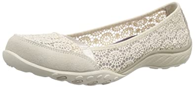 Skechers Breath Easy Pretty Face Damen Pumps  38 EUBeige (Nat)