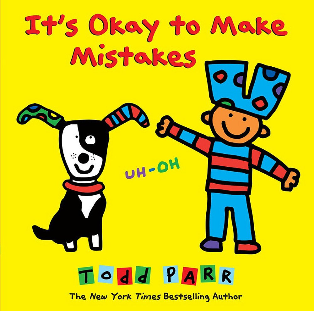 Okay Make Mistakes Todd Parr product image