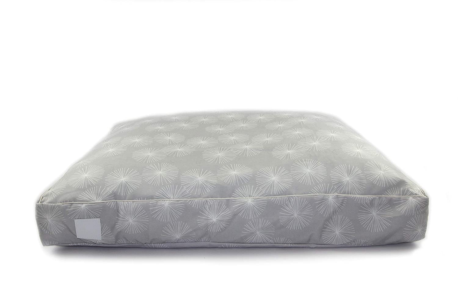 T & S Pet Products T & S Interior Floor Cushion Quilted Dandelion Grey Small