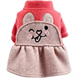 NEARTIME Puppy Clothes, Dog Coat Jacket Pet Outfit Winter Apparel Yorkie Garment