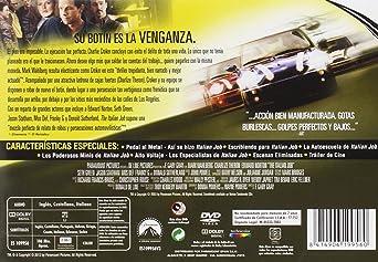 Amazon.com: The Italian Job - Edición Horizontal (Import Movie) (European Format - Zone 2) (2013) Mark Wahlberg; Edward: Movies & TV