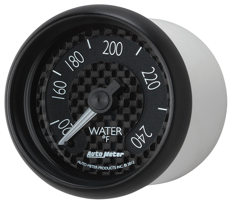 Auto Meter 8032 GT Series Mechanical Water Temperature Gauge by Auto Meter (Image #1)
