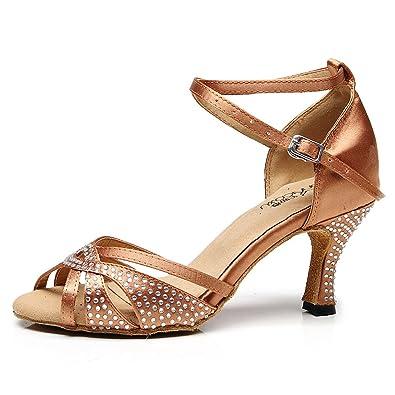 reputable site 18dc8 36737 BYLE Leder Sandalen Riemchen Samba Modern Jazz Tanzen Schuhe ...