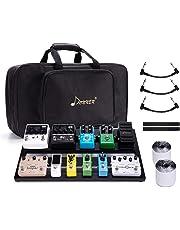 Donner Guitar Pedal Board Case DB-3 Aluminium Pedalboard 20'' x 11.4'' x 4'' with Bag