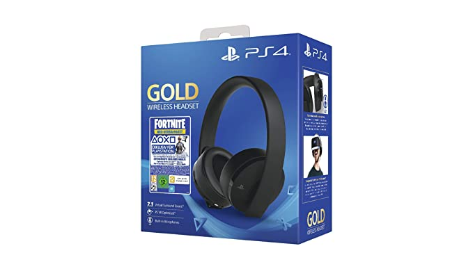 PlayStation 4 - Gold Wireless Headset: Neo Versa Bundle ...