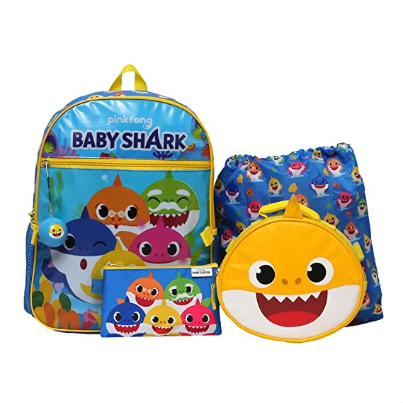 Expressions Blue Girls//Boys Preschool Toddler Backpack /& Lunch Box Set