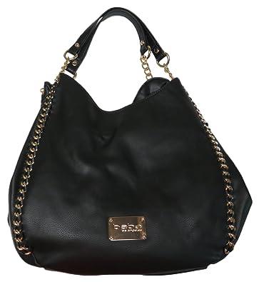 a5192c42c06 Bebe Colette Triple Entry Handbag Black: Handbags: Amazon.com