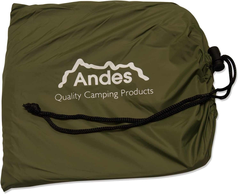 pour camping//p/êche Sursac /étanche pour sac de couchage Andes vert olive