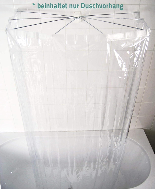 "RIDDER 50600 Duschvorhangklammer /""Fix It/"" zum fixieren von Duschvorh/ängen transparent"