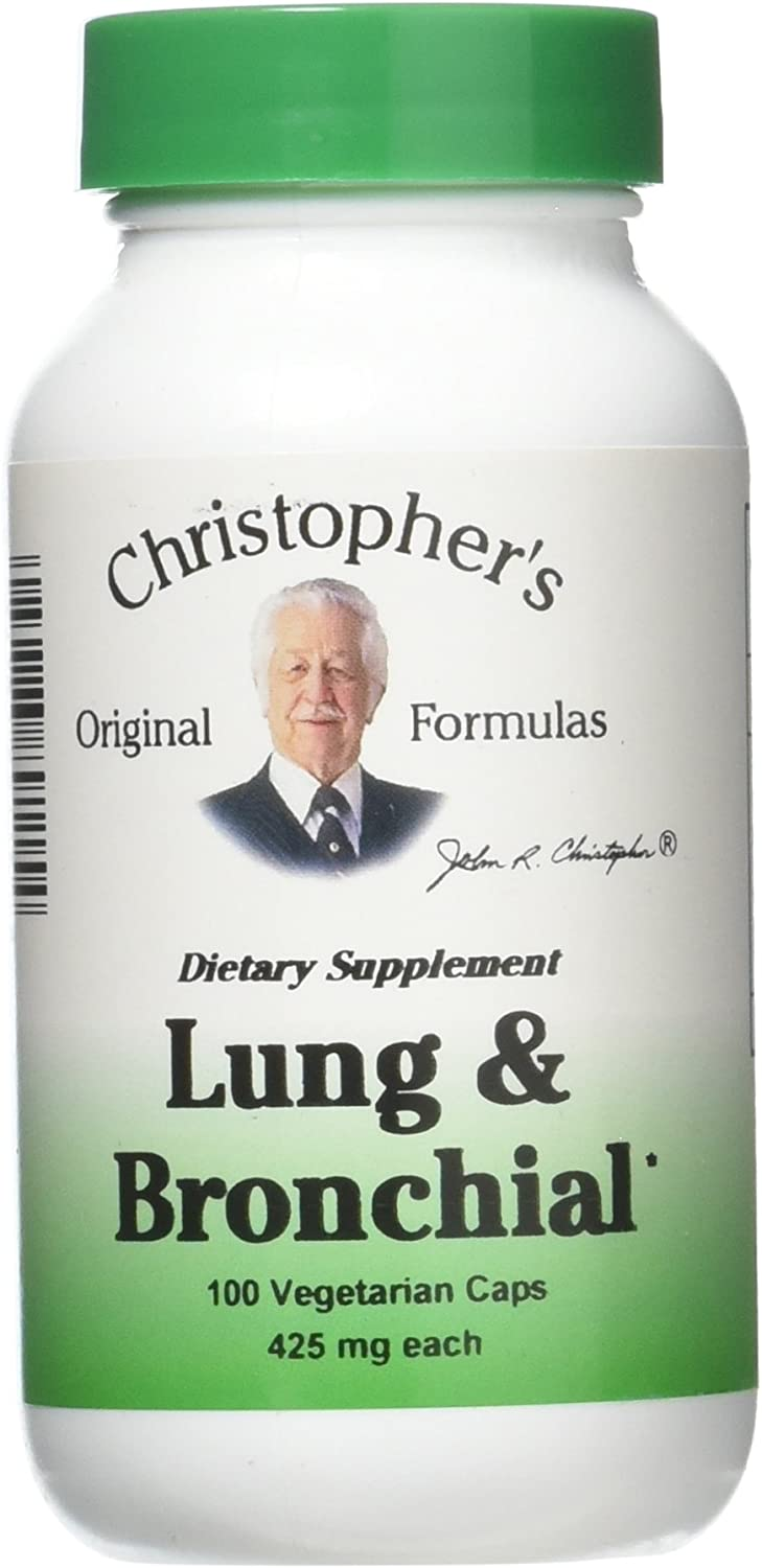 Lung and Bronchial Formula 100 Capsules (2 Pack)