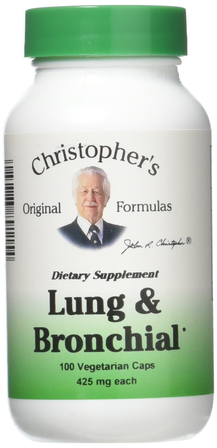 Lung and Bronchial Formula 100 Capsules (2 Pack) by Dr. Christopher's Formula