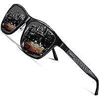 ROCKNIGHT HD Polarized Al-Mg Metal Driving UV400 Protection Sunglasses for Men Women Outdoor Sunglasses for Medium&Big…