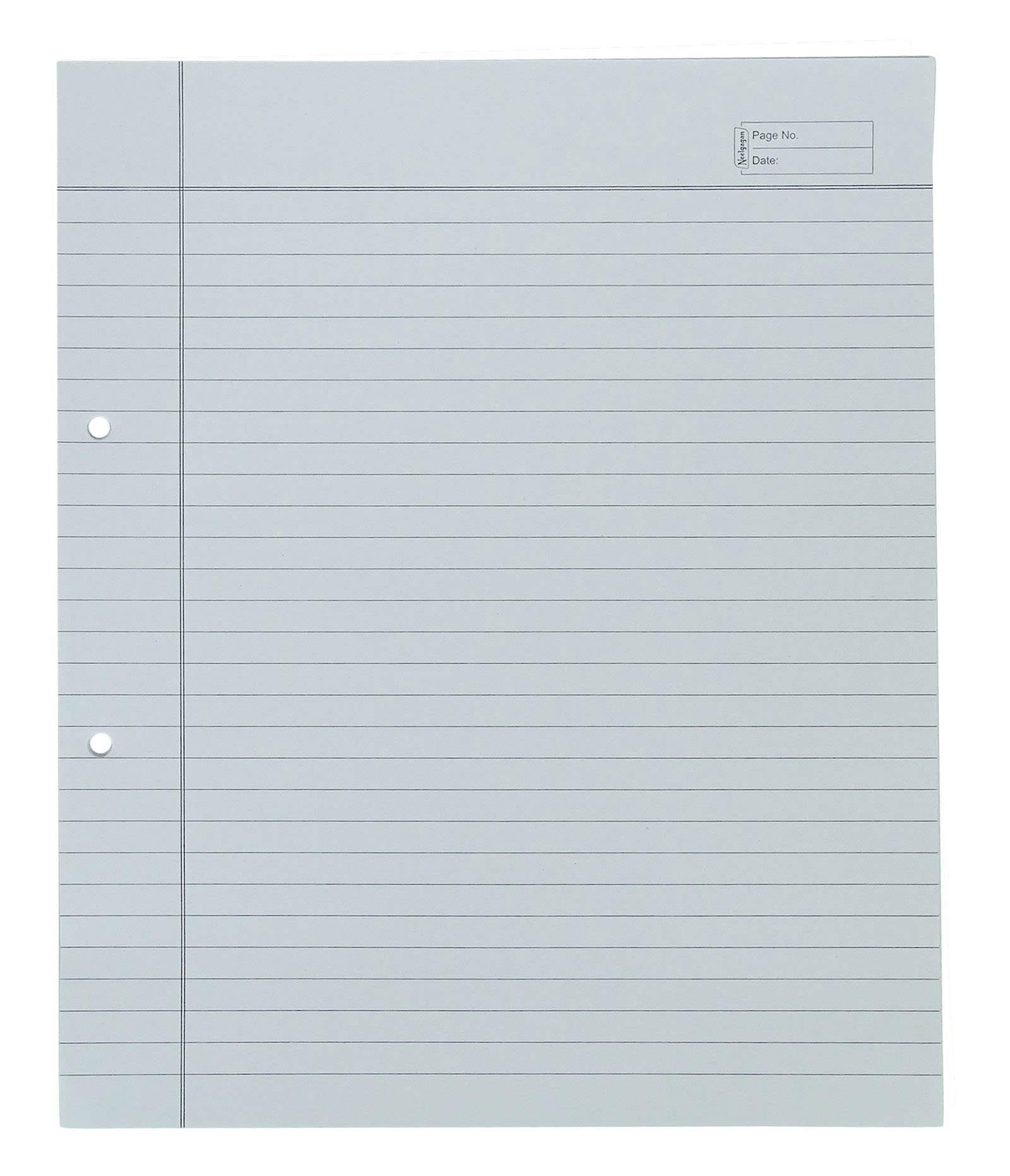 Neelgagan Plain & Ruled Line Loose Leaf A4 Size Paper With Margin School Stationary 24 Sheets - Packs Available