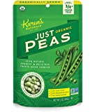 Karen's Naturals Organic Just Peas, 3-Ounce Package (Pack of 6) (Packaging May Vary)