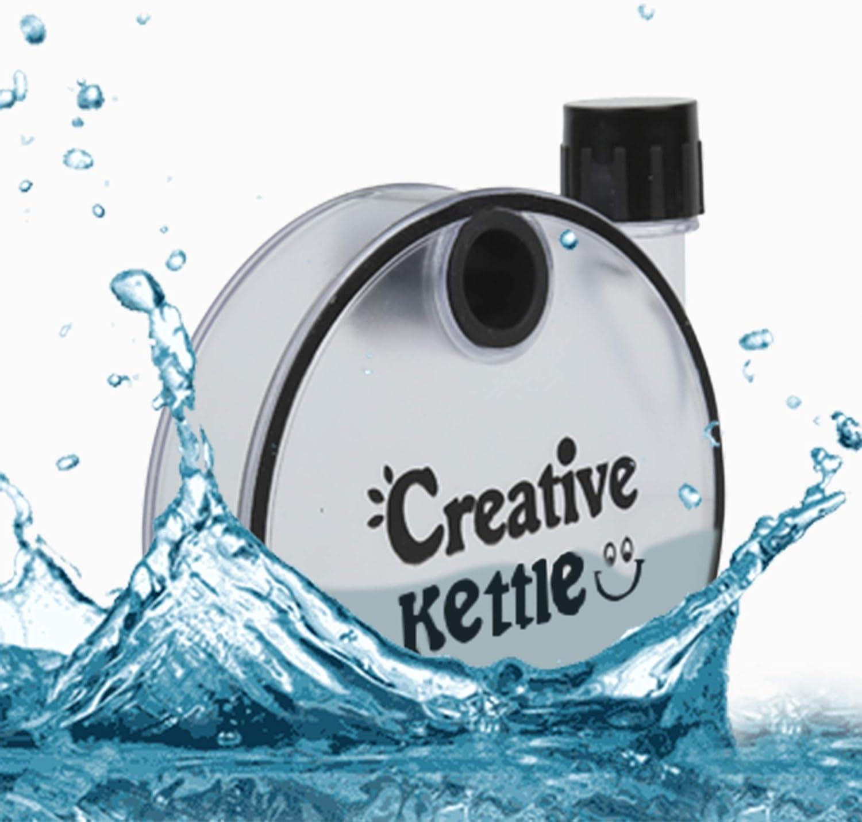 RAJRANG BRINGING RAJASTHAN TO YOU Memobottle Slim Botella de Papel Portatil para Exteriores Actividades Escuela y Oficina Sin BPA Plastico Botellas de Agua 350ml