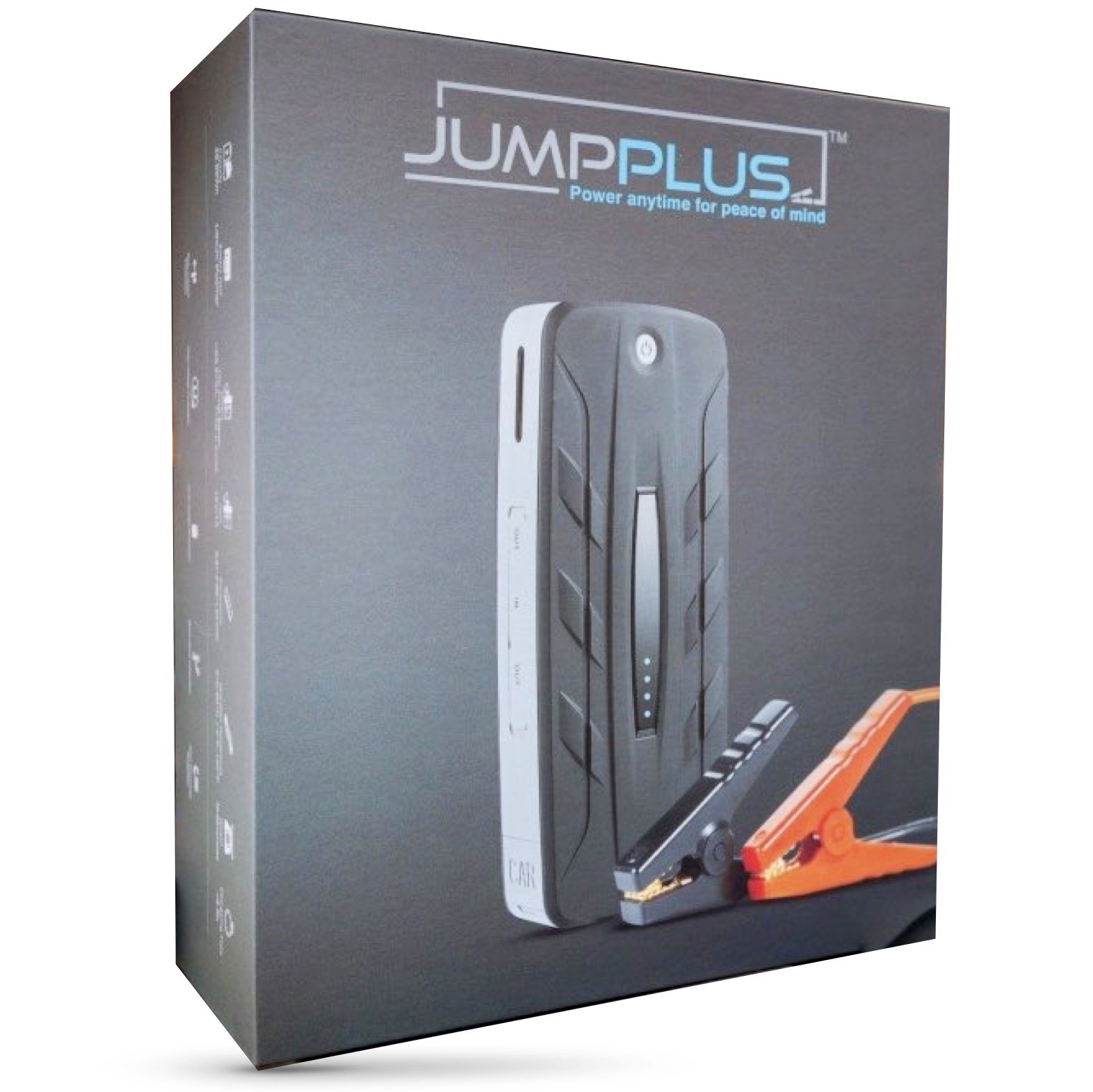 JUMPPLUS Portable Car Jump Starter & USB Charger | Macbook Type C Power Bank External Battery Pack | LED Light by Jumpplus (Image #1)