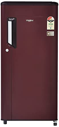 Whirlpool 185 L 3 Star Direct Cool Single Door Refrigerator(200 IMPC CLS Plus 3S, Wine)
