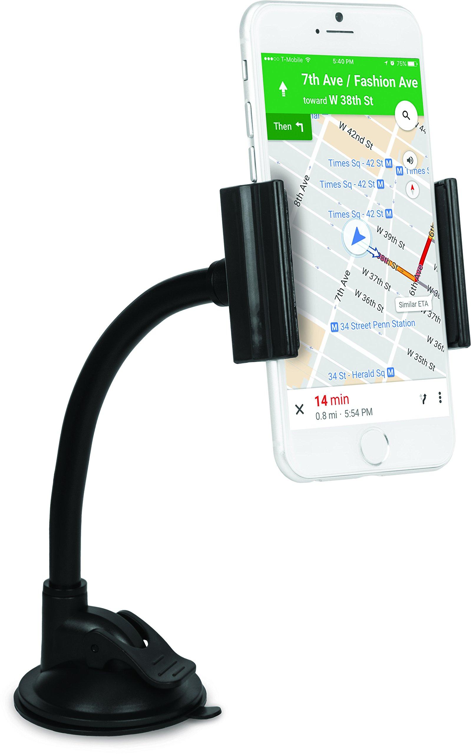 iHome IH-CM316B Car Mount for Universal Smartphones - Black