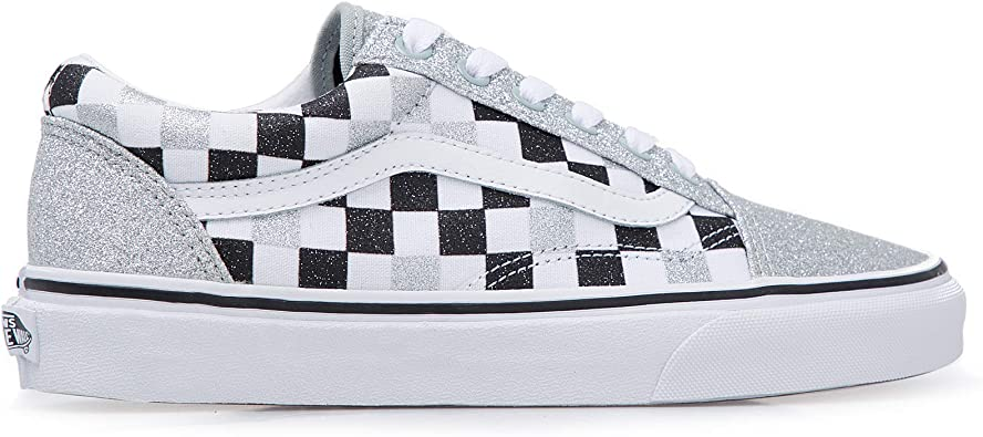 Vans Old Skool Black Silver White VN0A4BV5V3J1