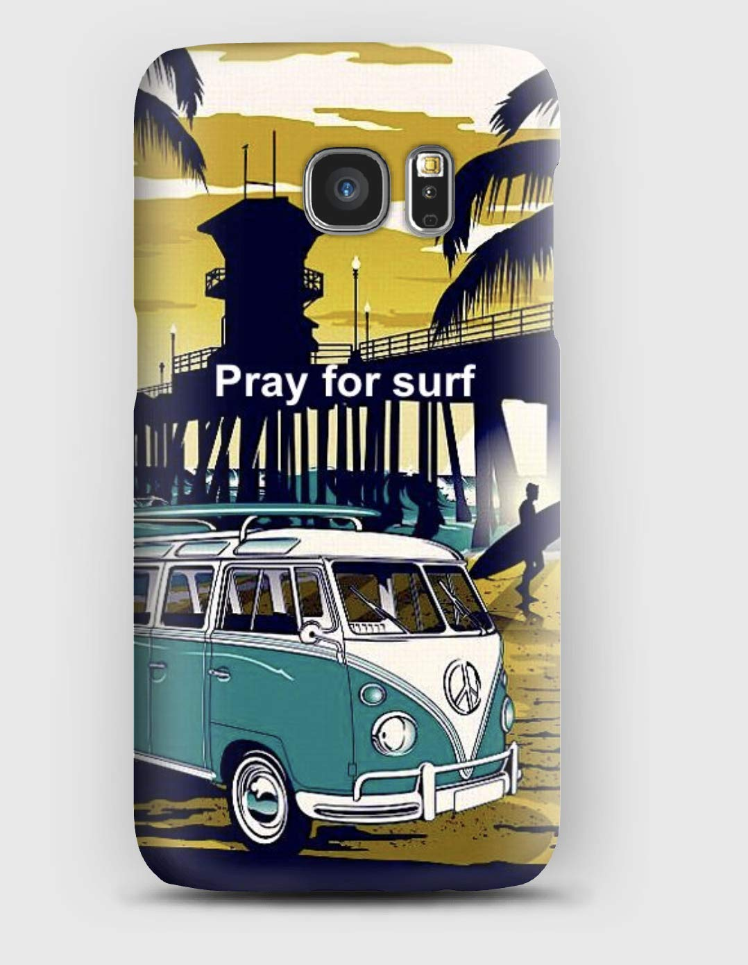 Coque Samsung S5, S6, S7, S8,S9, A3, A5, A7,A8, J3,J5, Note 4,5,8,9, Grand prime, Pray for surf