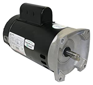 AO Smith/Century Electric Two-Speed, PSC High/Cap Start-Cap Run Low, 1.5 / .19HP, 3450/1725RPM, 230V, 10.0/1.6 AMPS, 1.47SERVICE Factor, Square Flange