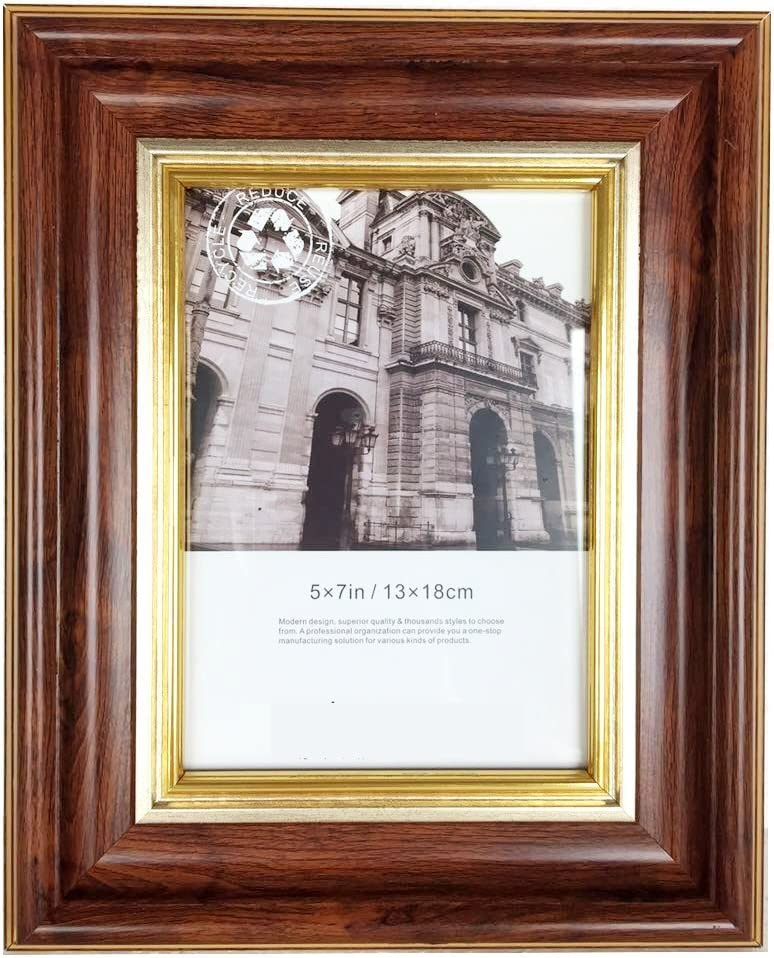 Brown Gold PS Material Frame Limited Edition Picture Frames Art Gallery Perfect for Photo Photograph Painting Artwork Home Decor