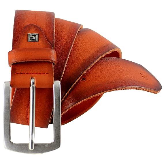 c17719c4c0b0 Pierre Cardin - Ceinture En Cuir 100 - Orange  Amazon.fr  Vêtements et  accessoires