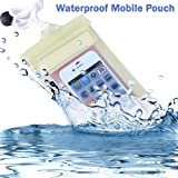 Saving Basket Transparent Silicon Mobile Pouch Cover - Colour May Vary