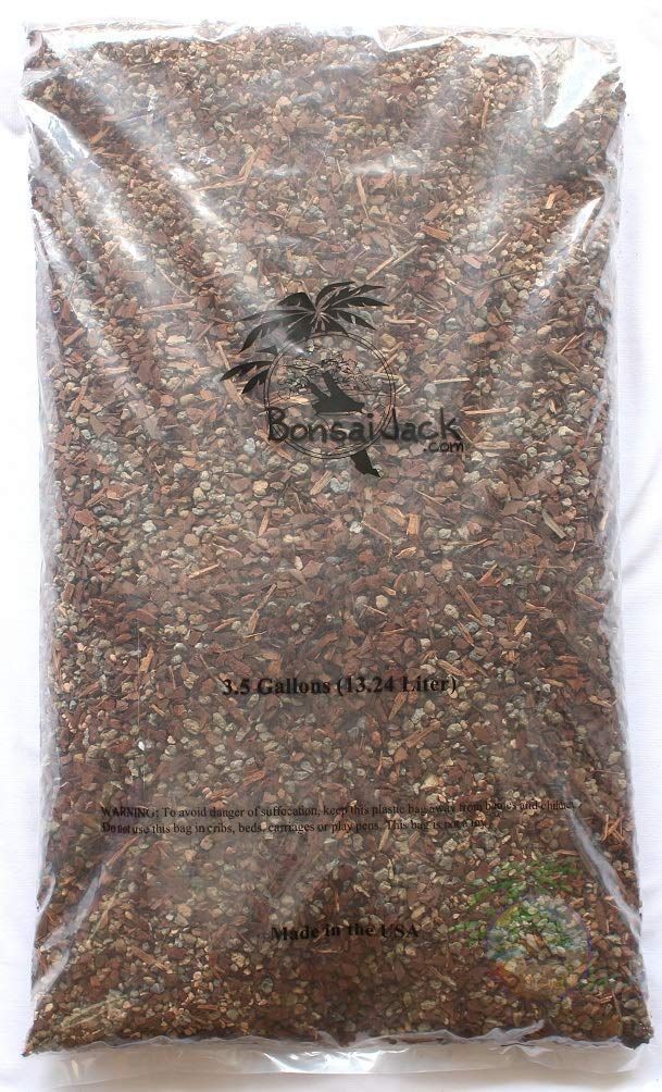 Bonsai Jack Succulent and Cactus Soil Gritty Mix #111-3.5 Gallons - Fast Draining - Zero Root Rot - Optimized pH by Bonsai Jack