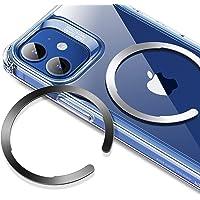 ESR Anillo Universal HaloLock, Kit Conversión Carga Inalámbrica Magnética, Anillo Metal Compatible MagSafe, Compatible…