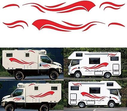 MOTORHOME CAMPER VAN CARAVAN GRAPHIC THE BEST THINGS 24IN STICKERS //DECAL
