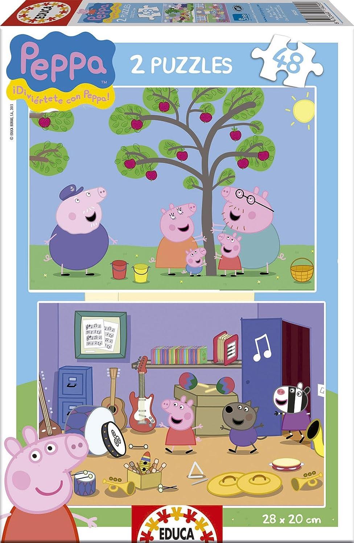 Puzzles Educa Peppa Pig puzzles de piezas