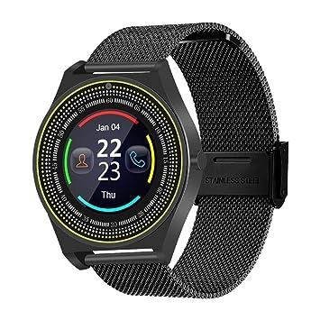 Sisaki Smartwatch, Reloj Inteligente Android con Ranura para ...