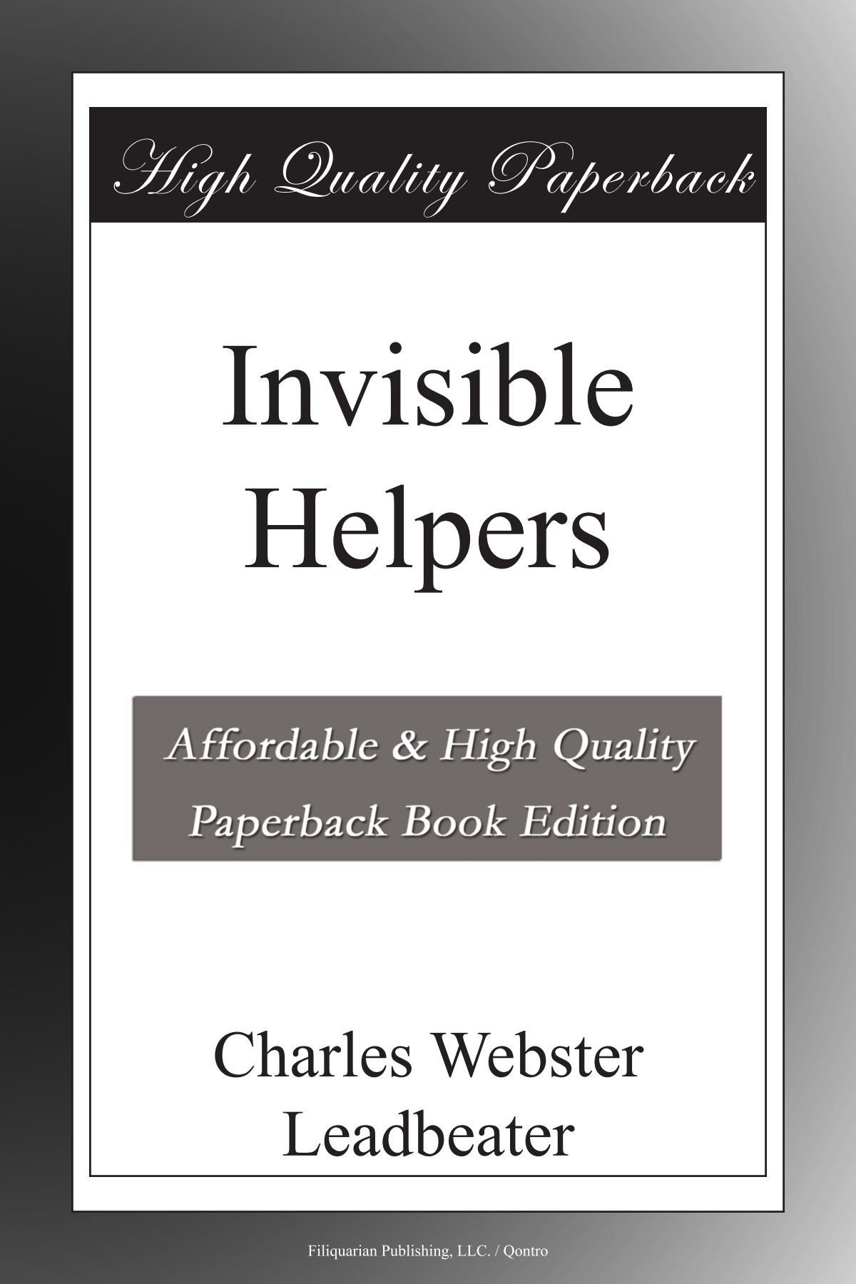 Read Online Invisible Helpers PDF
