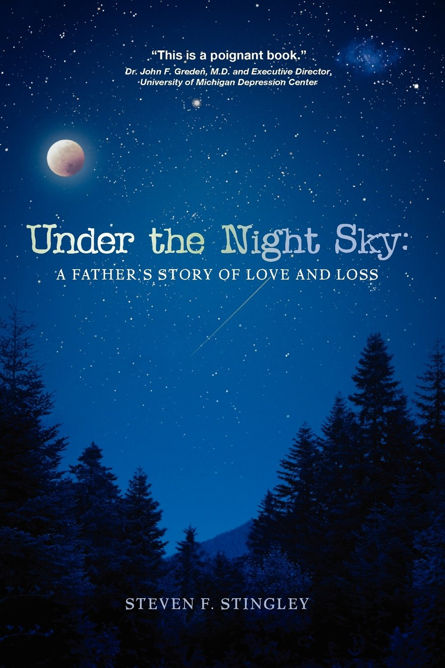 Under The Night Sky A Father S Story Of Love And Loss Mr Steven F