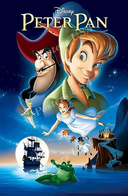 be54f415854a1 Posters USA Disney Classics Peter Pan Poster - DISN111 (16