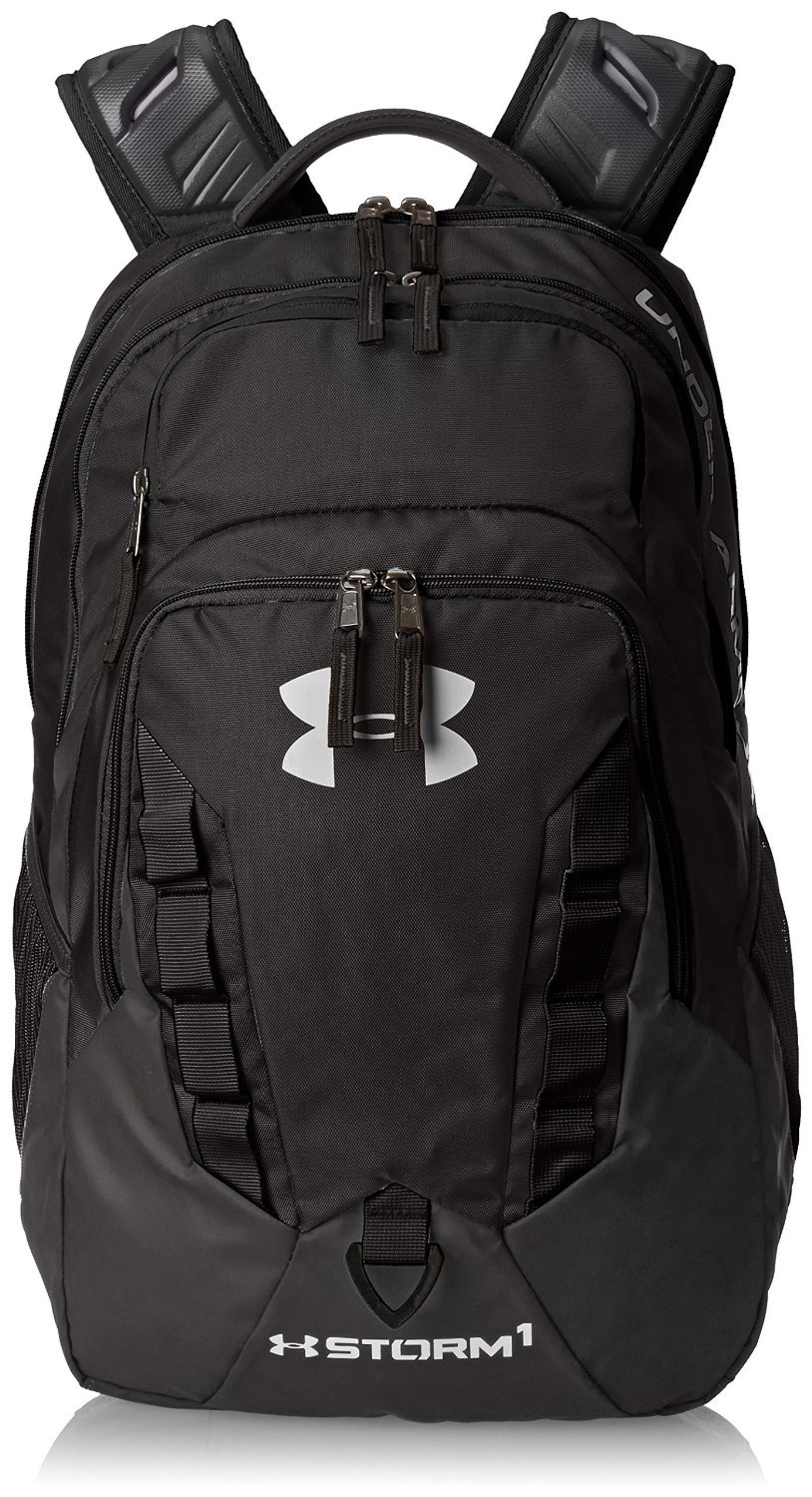 Under Armour Storm Recruit Backpack (One Size, Black (001))