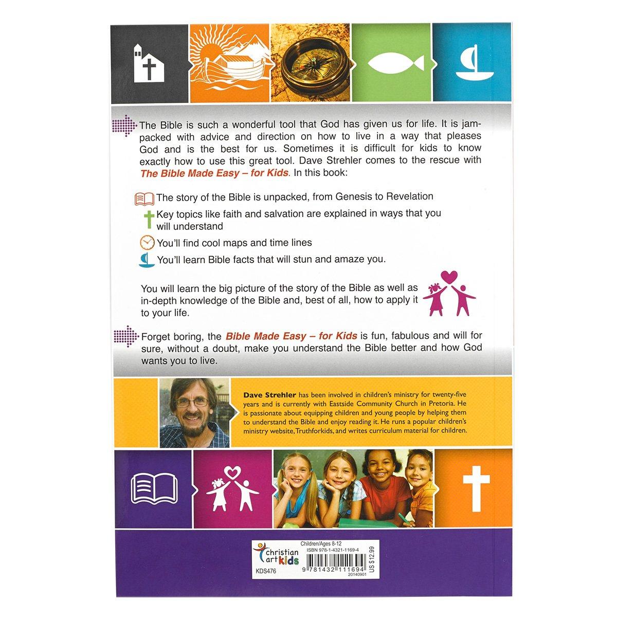 the bible made easy for kids dave strehler laura tucker