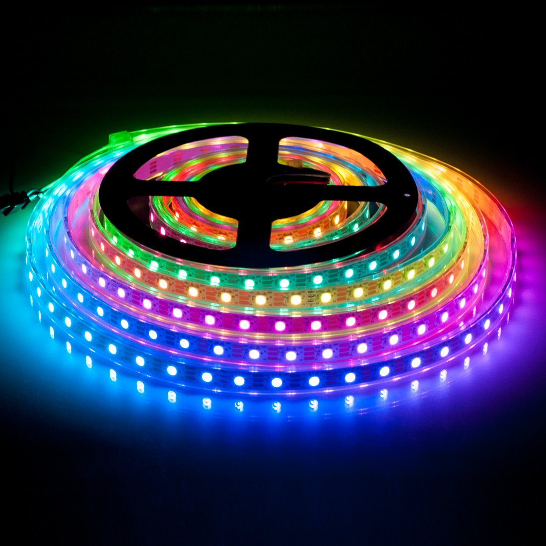 Btf Lighting Rgbw Rgbcw White Sk6812 Similar Ws2812b 164ft 5m 60leds Pixels M Individually Addressable Flexible 4 Color In 1 Led Dream Simple Rgb Strip Effect Circuit Electronics Projects Circuits