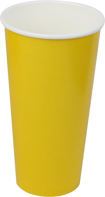 568/ml 25 Count bleu Gobelets jetables en carton pour boissons chaudes//froides vacances//f/êtes