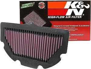 K&N Engine Air Filter: High Performance, Premium, Powersport Air Filter: 2006-2010 SUZUKI (GSXR600, GSXR750) SU-7506