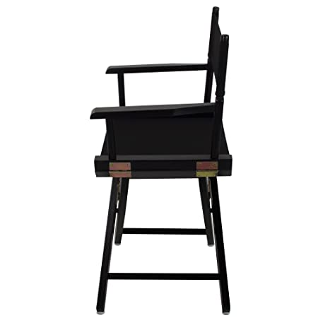 American Trails Extra Wide Premium 18 Directors Chair Black Frame With  Black Canvas Yu Shan ...