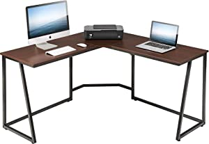 FITUEYES L Shaped Desk Corner PC Laptop Gaming Table Workstation for Home Office,LCD114001WE
