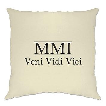 Amazon.com: MCMXCIX Veni Vidi Vici nacimiento año 1999 ...