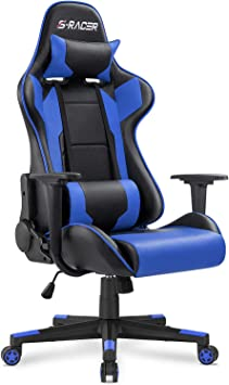 Amazon.com: Homall Gaming Chair Office Chair High Back Computer ...